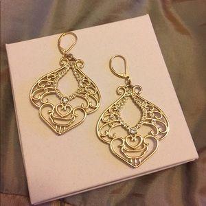Jewelry - Gold Chandelier Earrings - New🗯